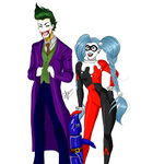 Joker Draven and Harley Jinx by NobodyBlues