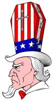 Uncle Sam wants you DEAD by Latuff2