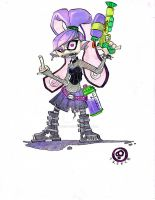 Splatoon Inkling Girl Custom by JeremyTreece