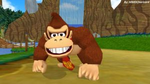 MMD DK Newcomer - Donkey Kong +DL+ by MMDCharizard