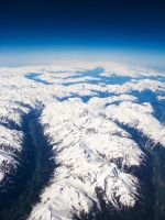 Alps from plane stock by Sassy-Stock