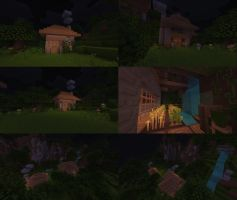 Village on Minecraft by kaitoooo
