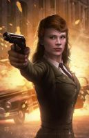 Peggy Carter by erlanarya