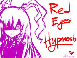 Red eyes hypnosis by Reisetyun