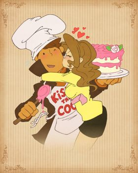 Kiss the Cook by zillabean