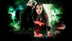 Draco Malfoy and Scarlet Witch - Just a dreamer by kienerii