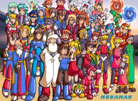 World of Megaman by Animeartist569