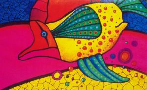 Colorful fish by Clukyrat