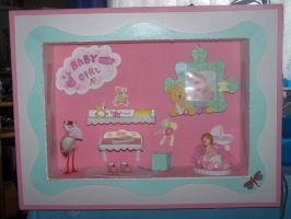 Baby-Girl Diorama _by my Mum_ by Cathy86