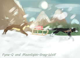 Winter holiday - collab by Fyne-Q