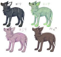 Wolf Adopts 1 by Unlikely-Adopts