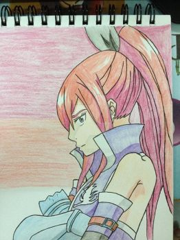 Erza Scarlet - Fairy Tail by Nghiluu