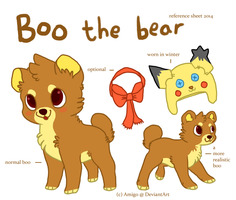 Boo reference sheet 2014 by amigo