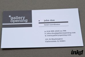 Contemporary Gallery Business by inkddesign