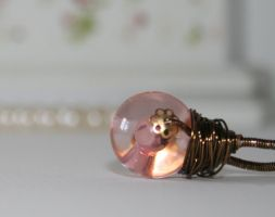 Divination Ball Wire Ring 5 L by FranyaBlue
