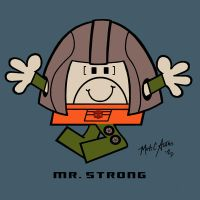 1. MR. STRONG by Josh-van-Reyk