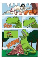 Dinosaur Eats People Page 23 by MontyRohde