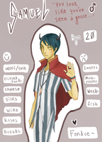 contest entry- samuel by VanilleB