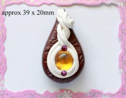 Polymer Clay Beads 95 by snowskin