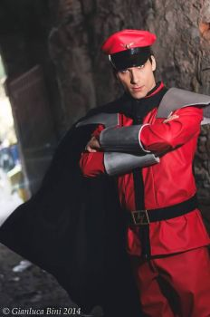 M. Bison,  Street Fighter by DavidCosplay