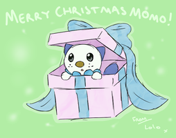 Christmas Gift for Momo by Lauzi