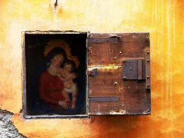 Madonna and Child by faather