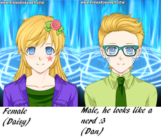 Male and Female (1P) by XxColourCodexX