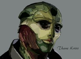 Thane Krios by KuroSebastian