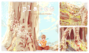 places artbook preview by eutopi