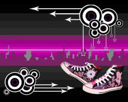 converse wallpaper by markthat