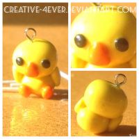 Duck Kawaii Charm by Creative-4ever