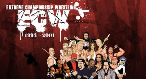 ECW 1993 - 2001 tribute by fmwcelt