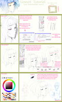 +Lineart Tutorial+ by taka-maple