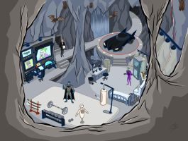 The Batcave full. by scootah91