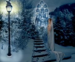 Snow Queen's Ice Palace by elemare