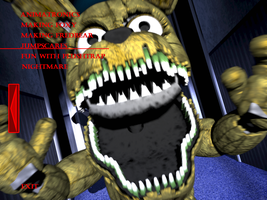 Fnaf4 plushtrap jumpscare by kana the drifter