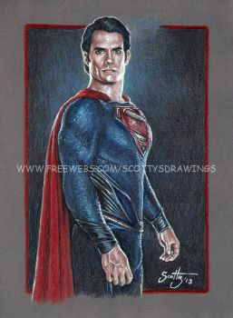The Man Of Steel 2013 by scotty309