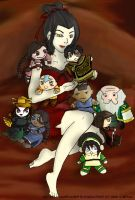 ATLA : Azula loves dolls... by blamedorange