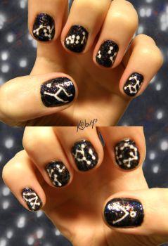 SGA Nail Art: Calling Home by Kebuyo