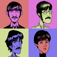 Fab Four by Entropician