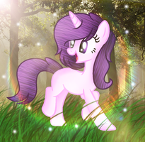Art Trade |  Melody Beat by BloodLover2222