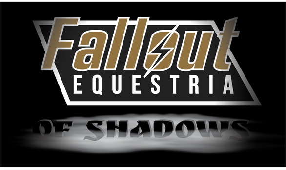 Fallout Equestria Of Shadows Logo by mcm653