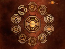 Dharma Wallpaper by vectorgeek