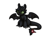 Toothless Animated! by Weaselfrost