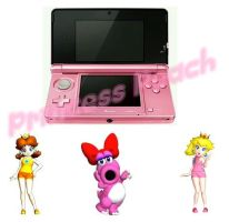 My Pink 3DS by fhhrnro