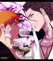 Aizen / Ichigo - I'm Gay by Tremblax