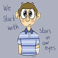 we start with stars in our eyes by Braang