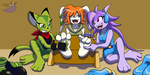 Freedom Planet tickle torture by PaladinGalahad