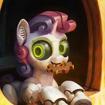 Sweetie Bot by Cannibalus