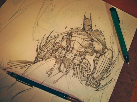 Commish 91 WIP 04 by RobDuenas
